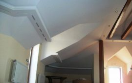 фигурные потолки из гипоскартона в Москве (18)
