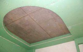 фигурные потолки из гипоскартона в Москве (2)