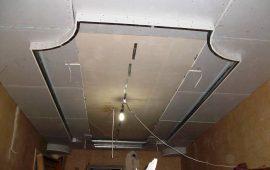 фигурные потолки из гипоскартона в Москве (28)