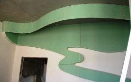 фигурные потолки из гипоскартона в Москве (5)