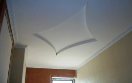 фигурные потолки из гипоскартона в Москве (9)